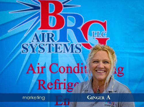 Ginger Aiello - Office Manager - BRG Air Systems LLC